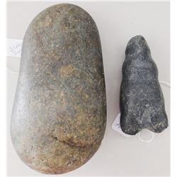 Pre-Columbian Stone Human Figure