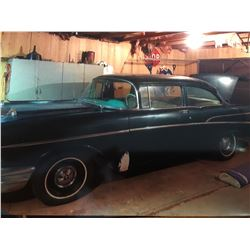 FRIDAY NIGHT! 1957 CHEVROLET DELRAY TWO DOOR CLUB COUPE V8