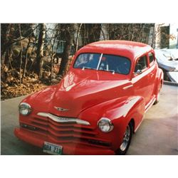 FRIDAY NIGHT! 1947 CHEVROLET STYLEMASTER 2 DOOR STREETROD