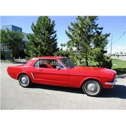 NO RESERVE! 1965 FORD MUSTANG COUPE