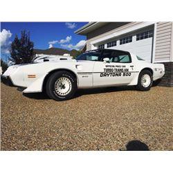 1981 PONTIAC TRANS AM NASCAR EDITION