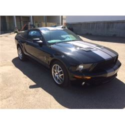 2007 MUSTANG SHELBY GT500 - ONLY 3740 ACTUAL KM!!!! - LIKE NEW