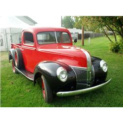 1940 FORD 1/2 TON PICK-UP