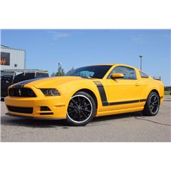 2013 FORD MUSTANG BOSS 302 - ONLY 3000KM