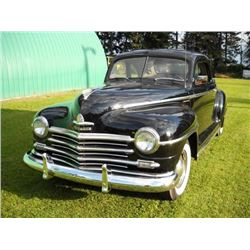 1948 PLYMOUTH BUSINESSMANS COUPE