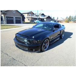 2007 SHELBY GT500 SUPER SNAKE 427 NASCAR 40TH ANNIVERSARY EDITION