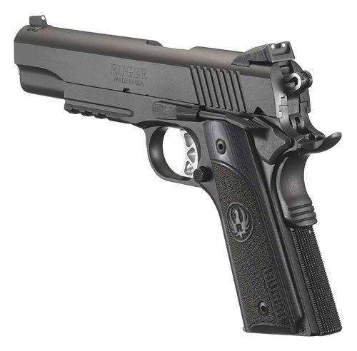 RUGER SR1911  45ACP FS 8-SHOT NITRIDE G10 GRIPS W