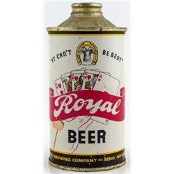 Royal Beer Cone Top Beer Can