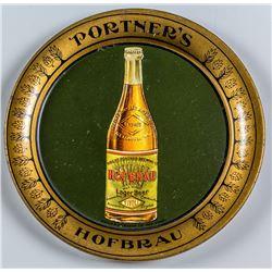 Portner's Hofbrau Tip Tray
