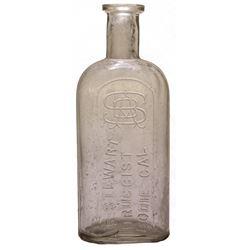 Stewart, Bodie Drug Bottle, Penn Oval
