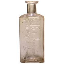 A. M. Cole Apothecary Bottle