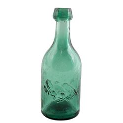 Eagle Soda Works Bottle, Embossed Eagle