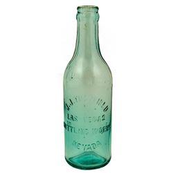 J. J. Tuckfield Soda Bottle
