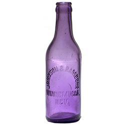 Johnson & Ramdohr Soda Bottle