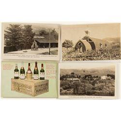 Best Four Postcards of Italian Swiss Colony