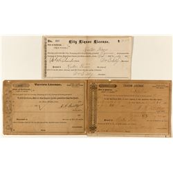 Liquor and Tavern Licenses for Rector Bros.