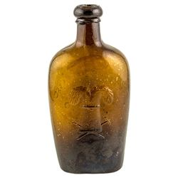 Westford Glass Co. Whiskey Flask
