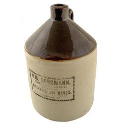 Borgmann Louisville Ceramic Jug