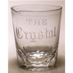 Crystal Saloon Shot Glass
