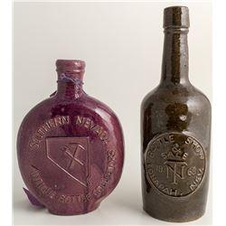 Unique Nevada Whiskey Bottles
