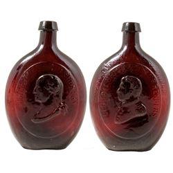 Rare Washington Taylor Whiskey Flask