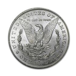 1878-S$1MorganSilverDollarAU