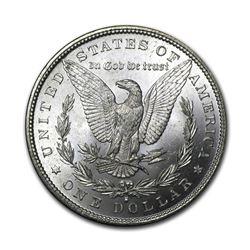 1881-S$1MorganSilverDollarAU