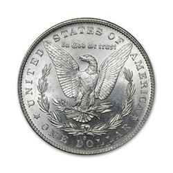 1881-S$1MorganSilverDollarUncirculated