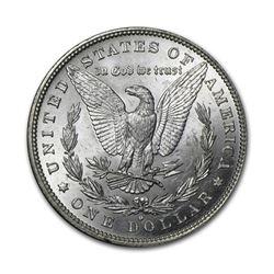 1885-O$1MorganSilverDollarAU