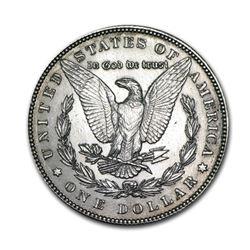 1889$1MorganSilverDollarAU
