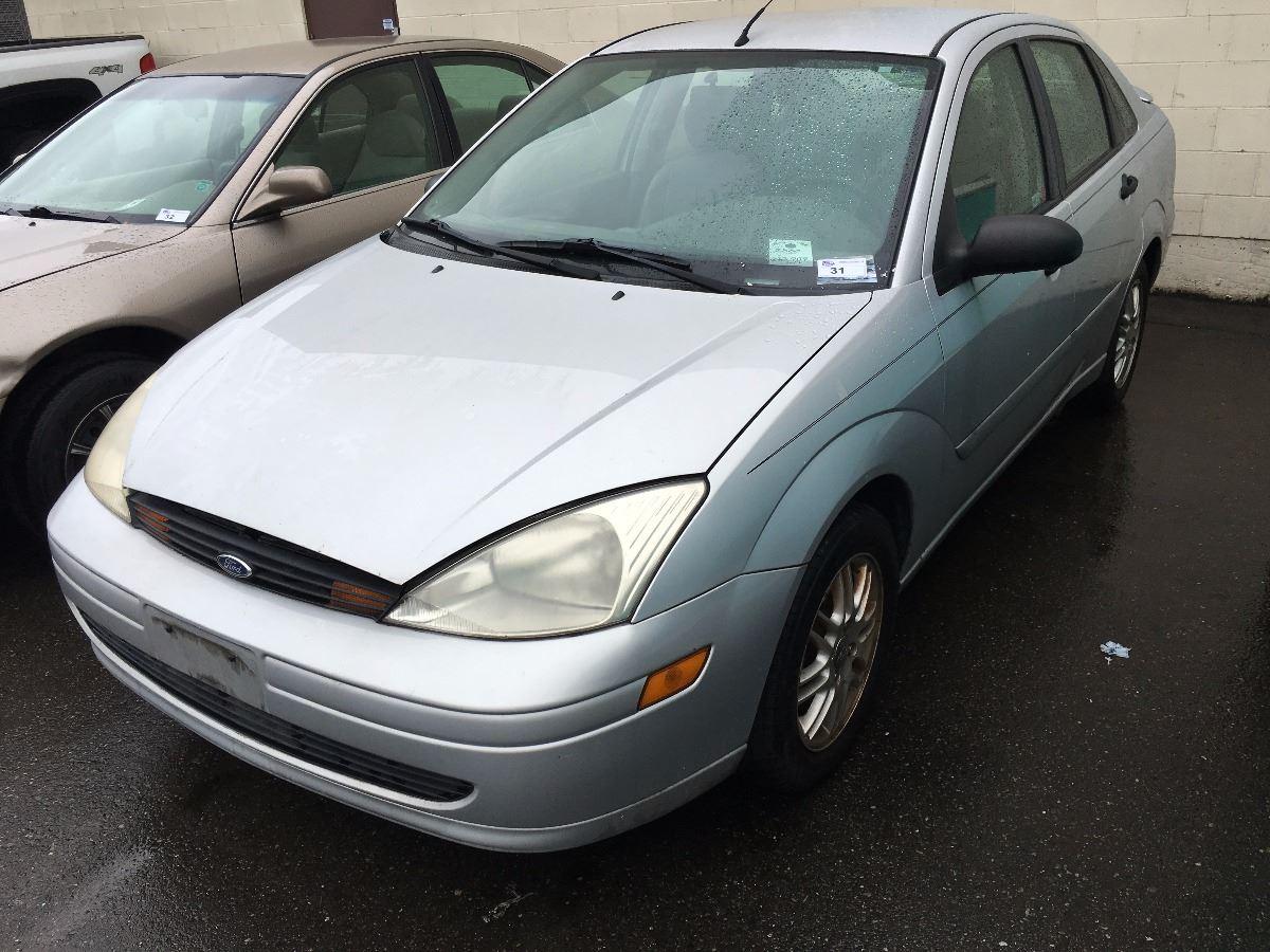 2000 Ford Focus Zts 4 Door Sedan Grey Vin 1fahp3837yw396263 Se Image 1