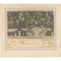 Herbert Hoover, Calvin Coolidge, and William H. Taft