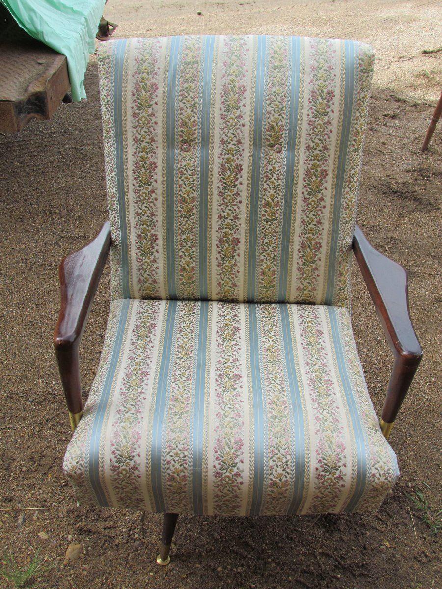 Art Deco Swivel Rocking Chair