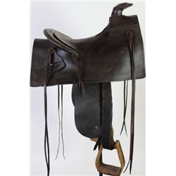 Early Mother Hubbard style saddle