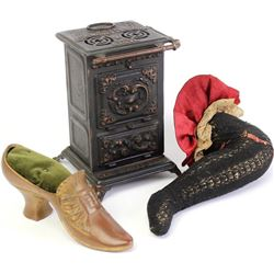 Collection of 3 includes original Virginia Stove