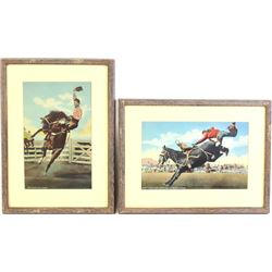 Collection of 4 large original Double Day Rodeo
