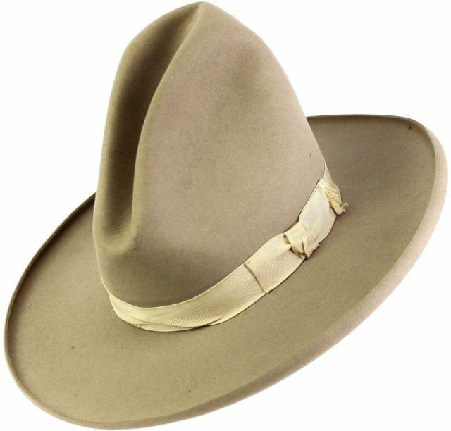 6c3e878f44604 Image 1   John B. Stetson vintage cowboy hat ...