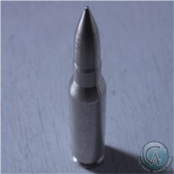 10 oz .999 Fine Silver Bullet .50 Caliber BMG (Tax Exempt)