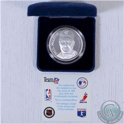 1993 1oz. 999 Fine Silver world Series Toronto Blue Jays Paul Molitor  Most Valuable Player Limited