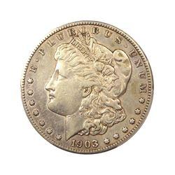 1903$1MorganSilverDollarXFRaw