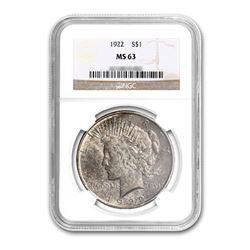1922$1PeaceSilverDollar-NGCMS63