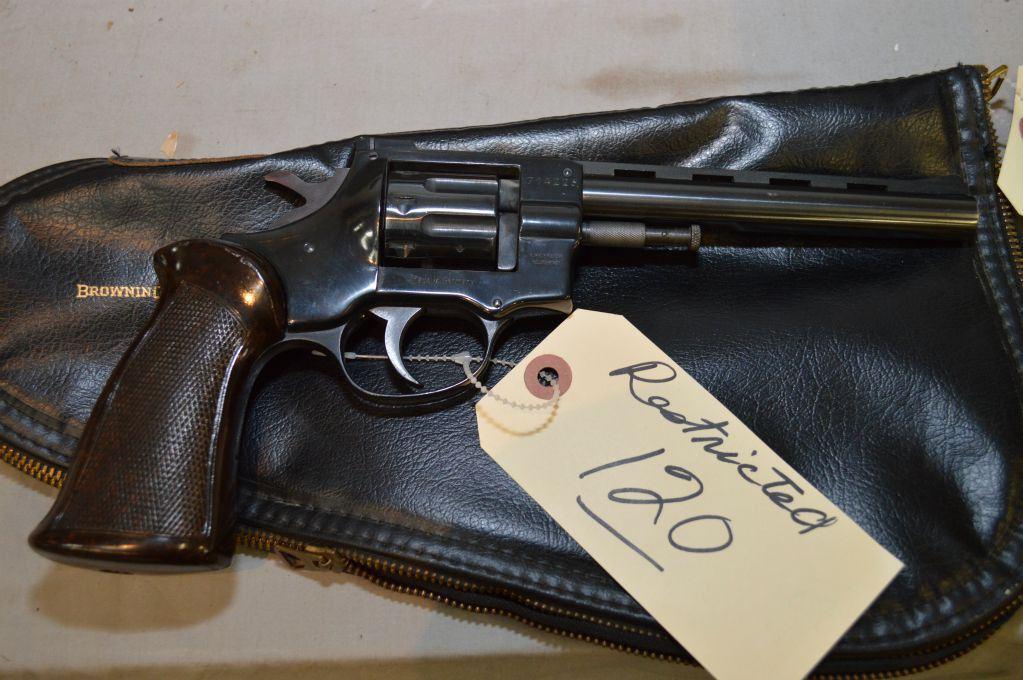 Arminius Model HW 7S  22 LR Cal 8 Shot Revolver w/ 152 mm vent rib