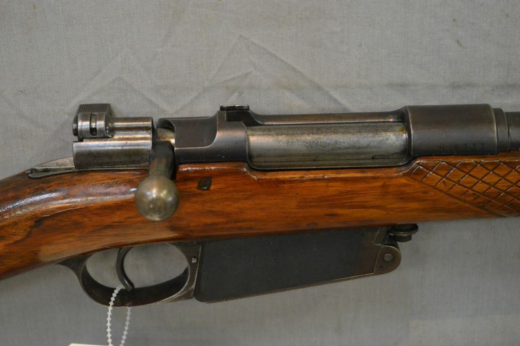 Argentine Mauser Model 1891 7 65 Argentine Cal Bolt Action Partly