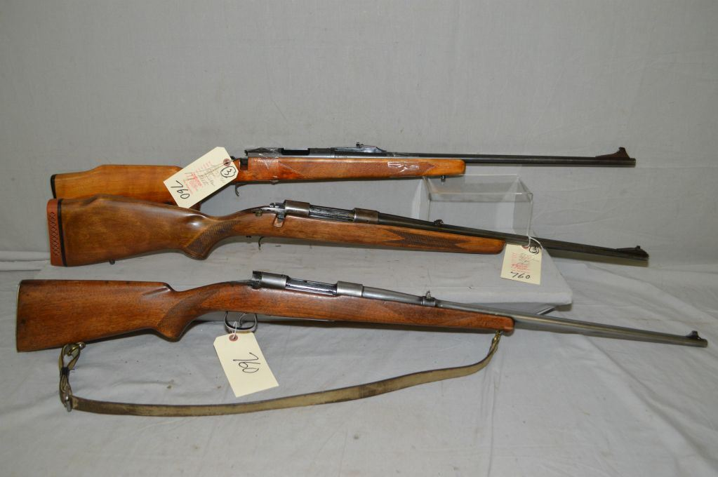 Lot of Three Parts Firearms - Remington Model 788  222 Rem Rifle