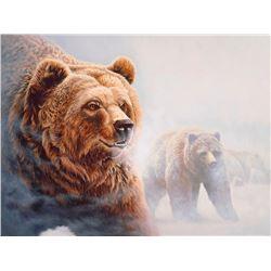 Grizzlies in the Mist, by Mark Kortnik