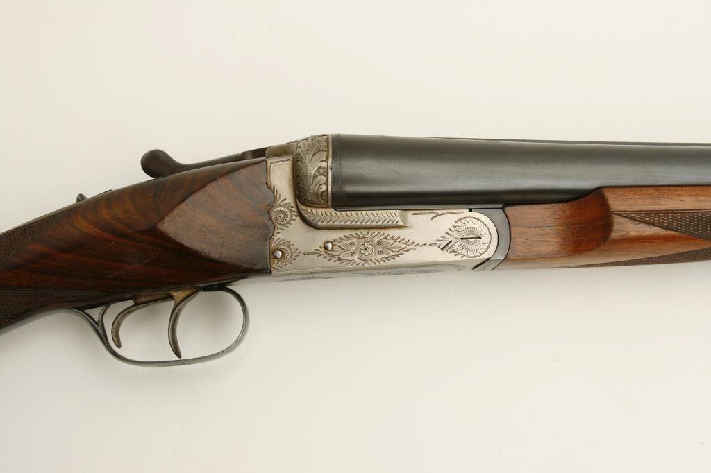 Umber Eibar side by side shotgun, 10 gauge,