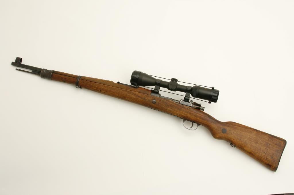 Yugo Mauser Model 24/47 bolt action rifle, 8mm