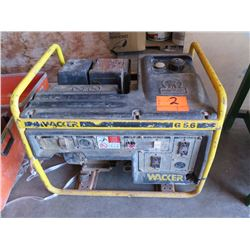 Wacker G5.6 Generator - 5600 Watts, 11 HP