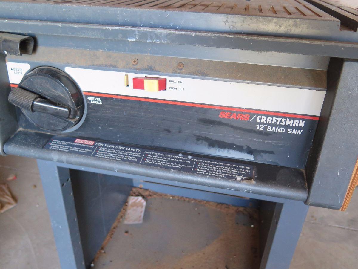 Craftsman 12-Inch Bandsaw - 1 1/8 HP