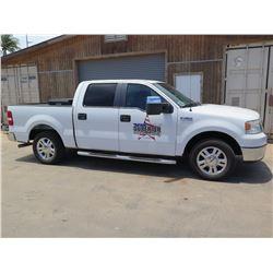 08 Ford XLT F150 Quad Cab Truck  (Lic. 988 TSW) w/Tool Box
